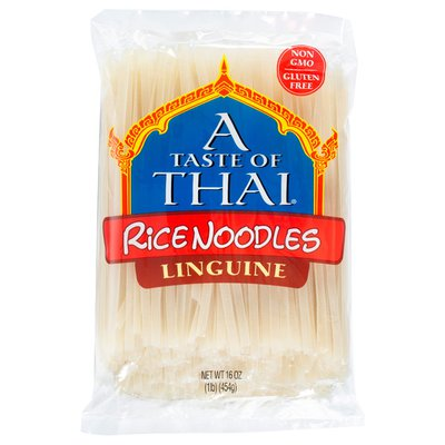A Taste of Thai Rice Noodles, Linguine, Perfect for Pad Thai
