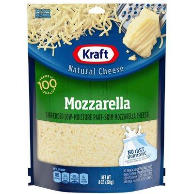 Kraft Mozzarella Shredded Cheese