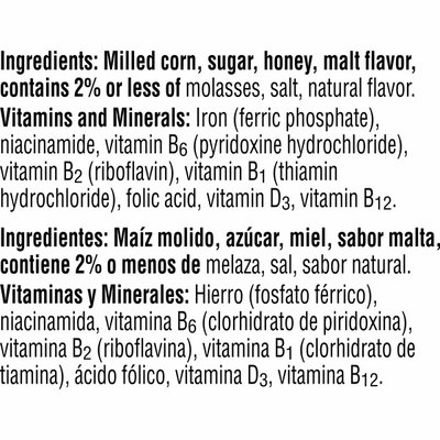 Kellogg's Frosted Flakes Breakfast Cereal, 8 Vitamins and Minerals, Honey Nut