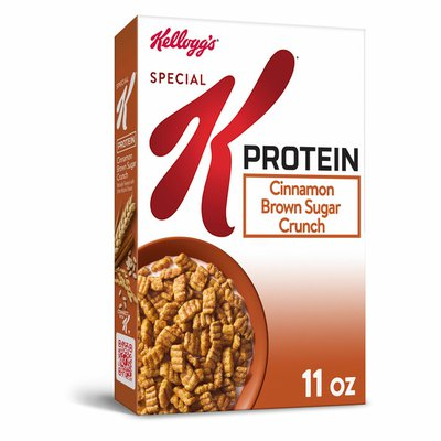 Kellogg's Special K Protein Breakfast Cereal, 10 Vitamins and Minerals, Brown Sugar Crunch