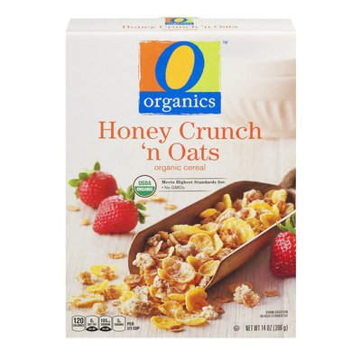 O Organics Cereal, Organic, Honey Crunch 'n Oats