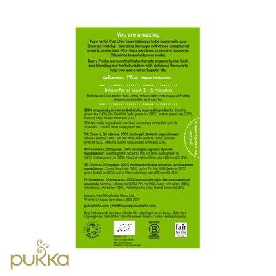 Pukka Herbal Green Tea Supreme Matcha Tea