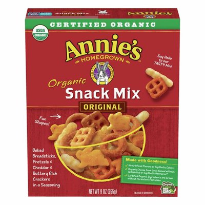 Annie's Organic Assorted Crackers and Pretzels Snack Mix