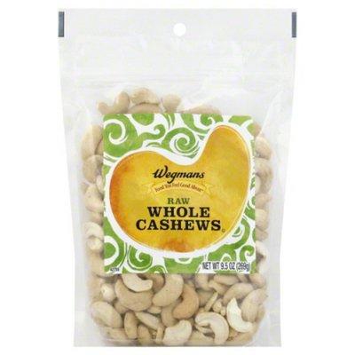 Wegmans Food You Feel Good About Raw Whole Cashews