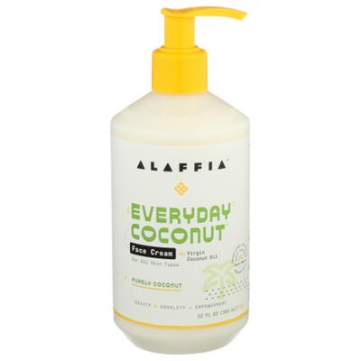 Alaffia EveryDay Coconut Face Cream, Purely Coconut