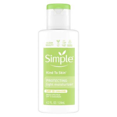Simple Facial Moisturizer Hydrating Moist Spf 15