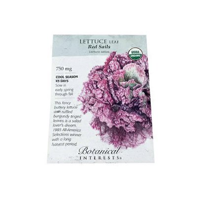 Botanical Interests Lettuce Seeds