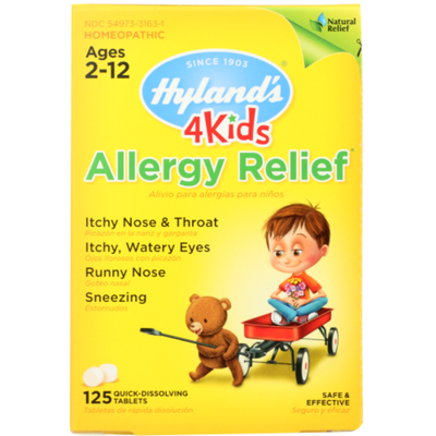 Hyland's Allergy Relief, Quick-Dissolving Tablets
