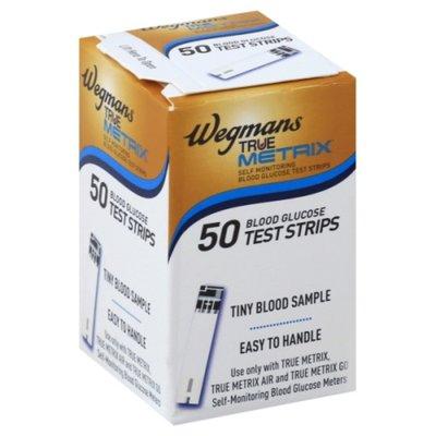 Wegmans True Metrix Blood Glucose Test Strips