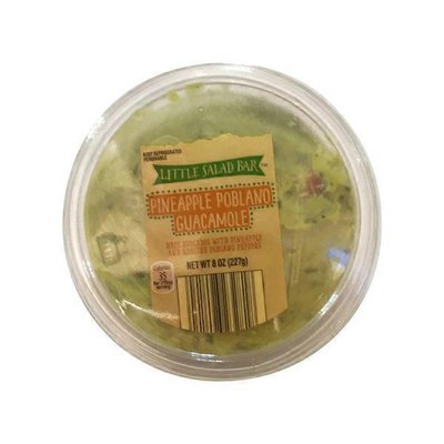 Little Salad Bar Pineapple Poblano Guacamole