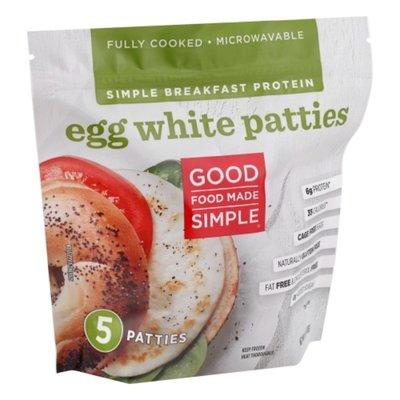 Good Foods Egg White Patties