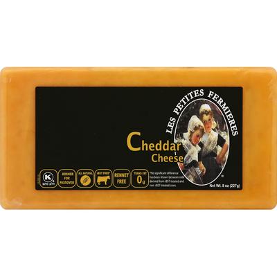Les Petites Fermieres Cheese, Cheddar