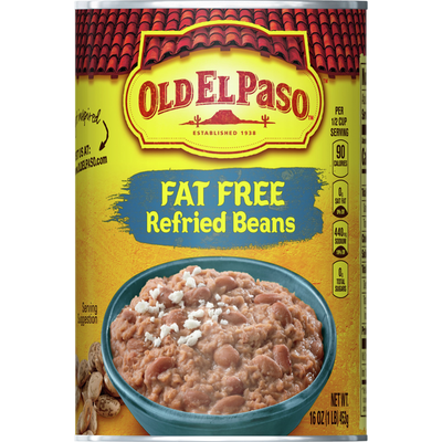 Old El Paso Refried Beans, Fat Free