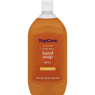 TopCare Hand Soap Refill, Antibacterial, Amber