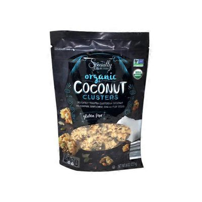 Specially Selected Organic Coconut Clusters