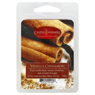 Candle Warmers Etc Wax Melts, Scented, Vanilla Cinnamon