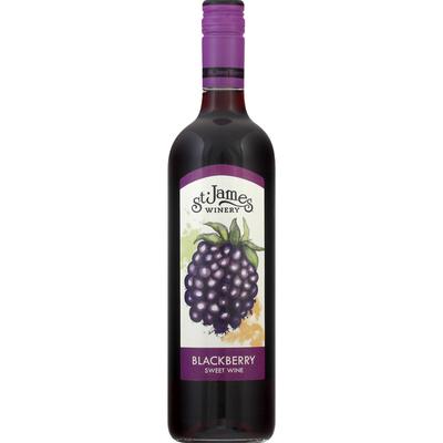 St James Sweet Wine, Blackberry