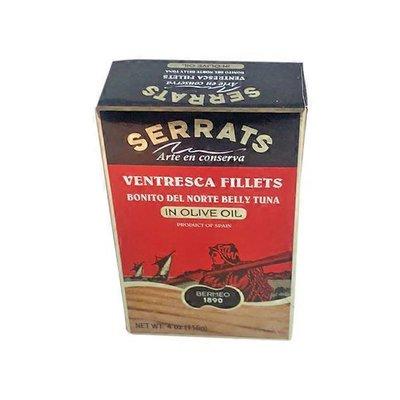 Serrats Ventresca Fillets In Olive Oil