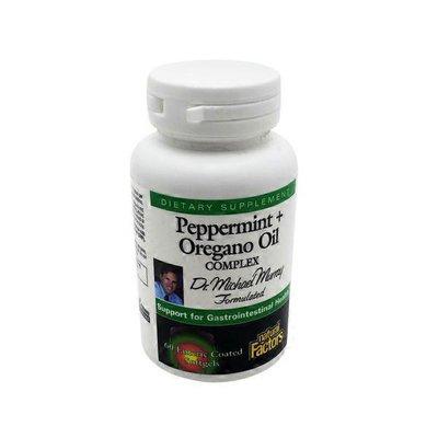 Natural Factors Peppermint + Oregano Oil Complex Dietary Supplement