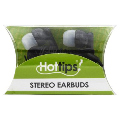 Hottips Earbuds, Stereo, 4 Feet Long Cord