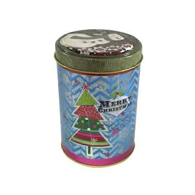 Size 2 Round Candy Gift Tin