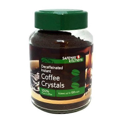 Signature Kitchens Instant Decaffeinated Coffee Crystals Coffee