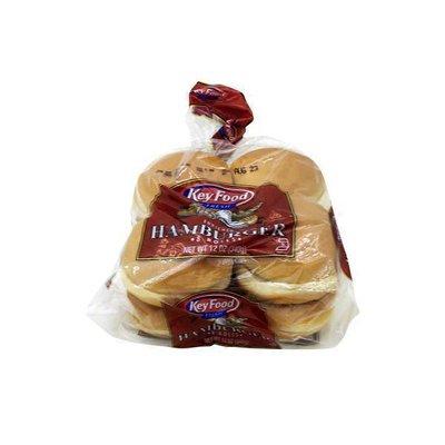 Key Food Enriched Hamburger Rolls