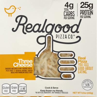 Realgood Pizza, Three Cheese