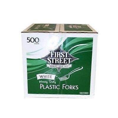 First Street Heavy Duty Plastic Forks