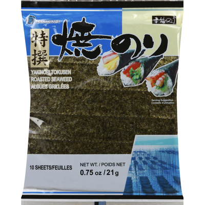 Takaokaya Roasted Seaweed Sheets