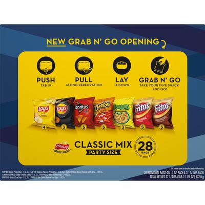 Frito Lay's Classic Mix Snacks
