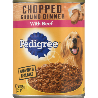 Pedigree Food for Dogs, Beef