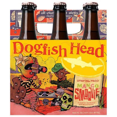 Dogfish Head Brewery Mango Smoovie, Seasonal Art Series Beer