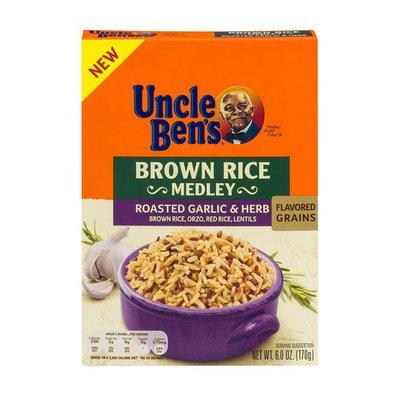 Uncle Ben's Brown Rice Medley Roasted Garlic & Herb