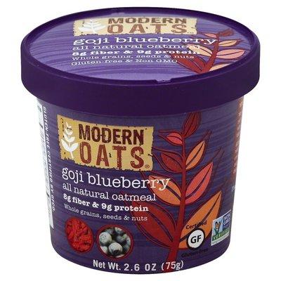 Modern Oats Oatmeal, Goji Blueberry, Cup