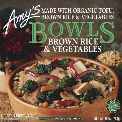 Amy's Kitchen Brown Rice & Vegetables