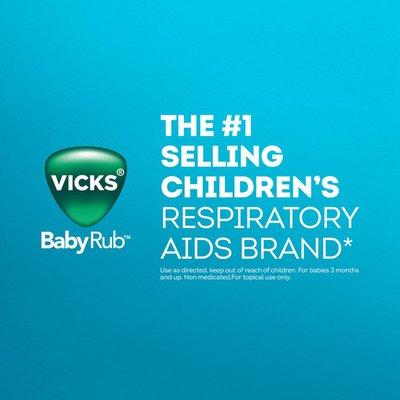 Vicks Babyrub Chest Rub Ointment, From The Makers Of Vaporub