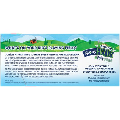 Stonyfield Organic YoKids Squeezers Lowfat Yogurt Variety Pack
