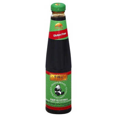 Lee Kum Kee Oyster Flavored Sauce, Gluten Free, Green Label
