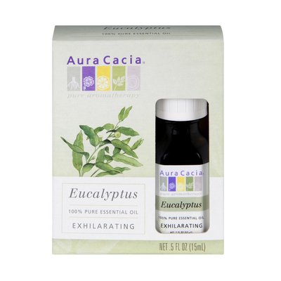 Aura Cacia Eucalyptus Exhilarating 100% Pure Essential Oil