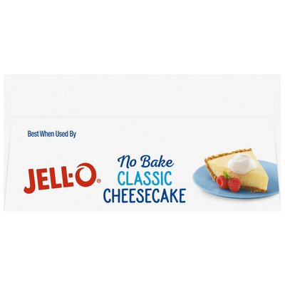 Jell-O No Bake Real Cheesecake Dessert
