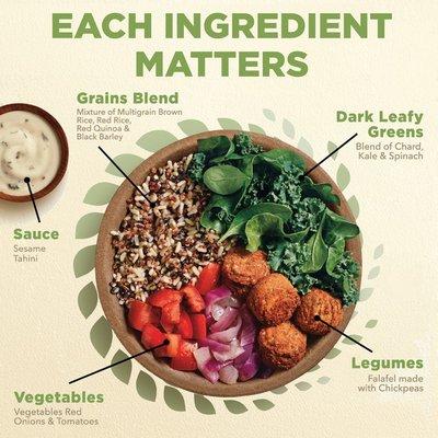 Healthy Choice Power Bowls Falafel And Tahini