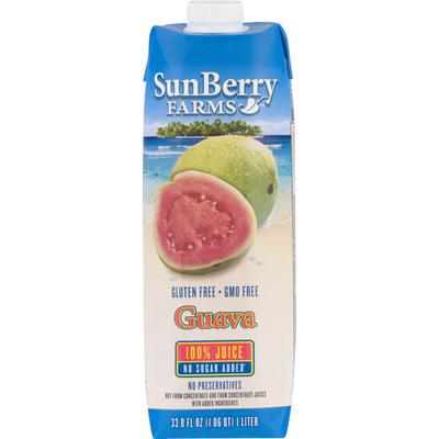 SunBerry Farms 100% Juice Guava