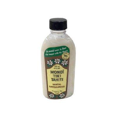 Monoi Tiare Tahiti Santal Sandalwood Coconut Oil
