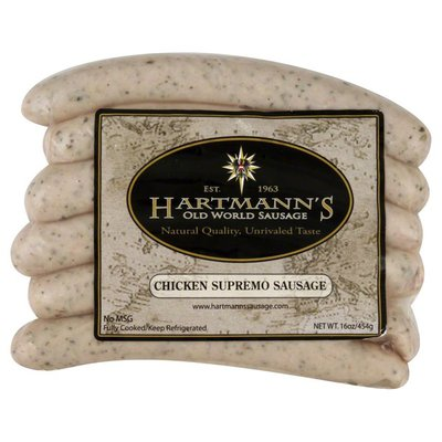 Hartmanns Sausage, Chicken Supremo