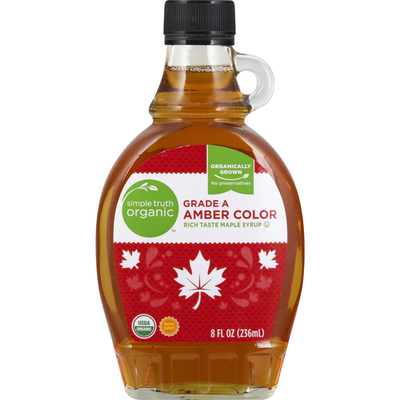 Simple Truth Organic Maple Syrup, Amber Color