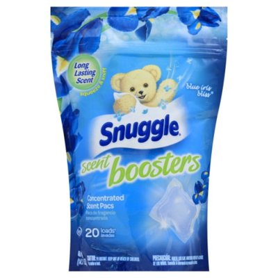 Snuggle Concentrated Scent Pacs, Blue Iris Bliss