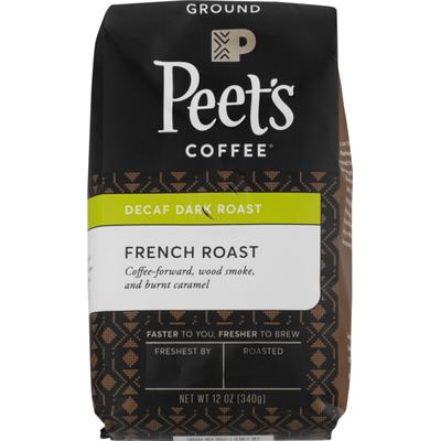 Peet's Coffee Decaf Dark Roast French Roast