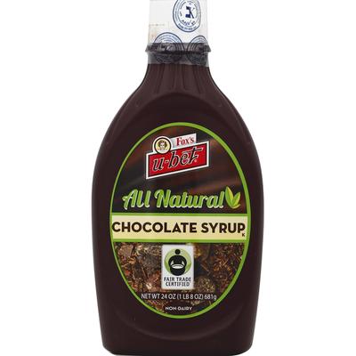 Fox's Chocolate Syrup