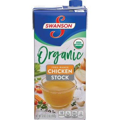 Swanson® Organic Free-Range  Chicken Stock